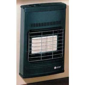 Stufa con ventola tangenziale gas metano per parete o pavimento 4200 W 110 m³ Mod. Eco 42 T - riscaldamento casa
