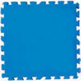Tappetino base per piscina in polietilene Bestway cm. 50X50 azzurro conf. 8 pz Mod. 58220 - arredo giardino esterni piscine