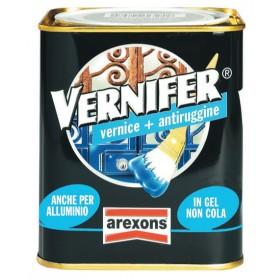 VERNIFER vernice con antiruggine AREXONS grigio scuro brillante 750 ml
