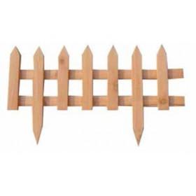 Steccato in legno di pino impregnato cm. 60x35 conf. 20 pz. - arredo casa giardino