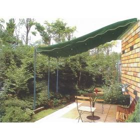 Veranda in acciaio verniciato m. 3x4 - arredo casa giardino