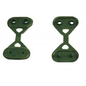 Clips fissaggio Rete ombreggiante Telo frangivista frangisole conf 10 pz