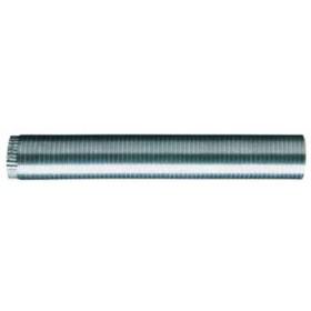Tubo flessibile per stufa in alluminio cm. 90 estendibile fino a 3 m. diametro cm. 25 - impianto riscaldamento casa