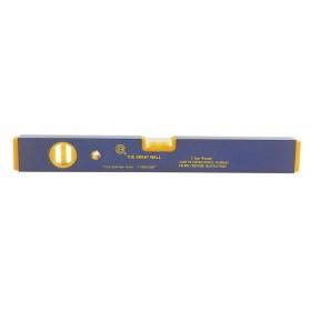 Livella 2 bolle profilo antiurto lunghezza 60 cm Mod GWP - 95A