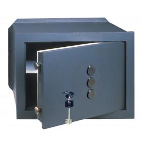Cassaforte meccanica 10 mm CISA cm 31x19x20h da incasso - Art 82210.21