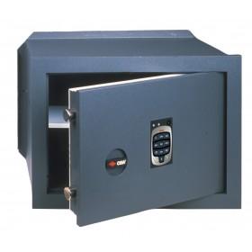 Cassaforte elettronica 10 mm CISA cm 49x25x36h da incasso Art 82710.51