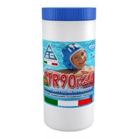 Cloro in pasticche per piscine - Mod. STR90 - C.A.G. Chemical - Confezione da 1 kg