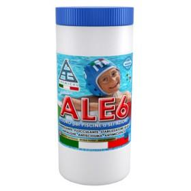 Cloro multifunzione in pasticche per piscine - Mod. ALE6 - C.A.G. Chemical - Confezione da 1.4 kg