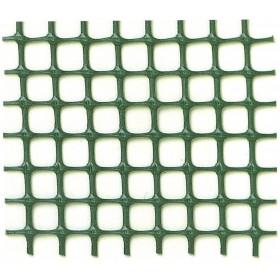 Rete balconi maglia mm 10x10 in plastica marrone h 100 cm rotolo 50 mq
