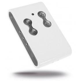 Radiocomando quarzato SICETECH 4 tasti colore bianco Mod JUMBO