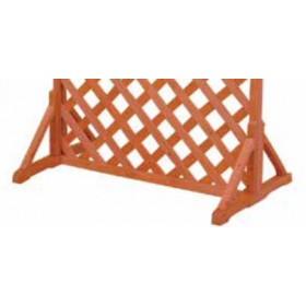 Piedi per tutti i tipi di Pannelli in legno trattato cm. 60x30 modulare - arredo casa giardino balcone