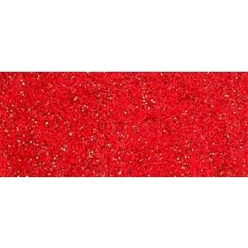 Passatoia rossa Mod. Glitter cm. 100 - Natale luci albero decori feste