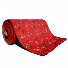 Passatoia Mod. Buone feste cm. 100 rosso - Natale luci albero decori feste