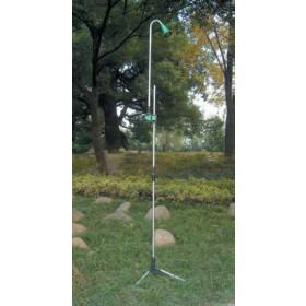 Doccia da giardino in alluminio con treppiedi Irrigo ART.366 - arredo esterno piscina