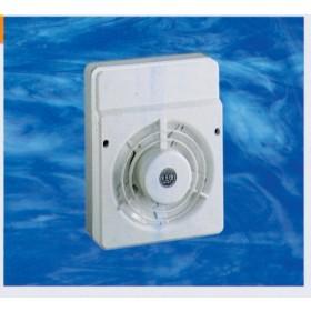 Aspiratore elettrico da parete in materiale termoplastico ø 12 cm Art V12