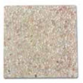 Serie 4 marmette Base per Ombrellone in cemento cm. 50x50 - arredo casa giardino