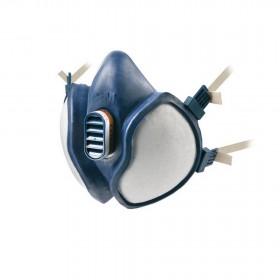 Respiratore Maschera protezione polveri solventi FFA1P1 3M - Mod 4251