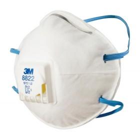 Mascherina di protezione 3M scatola 10 pz prodotti chimici FFP2 Mod 8822