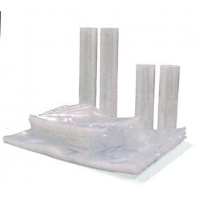 Rotolo goffrato nylon cm 20x6 m per macchina sottovuoto conf 2 rotoli