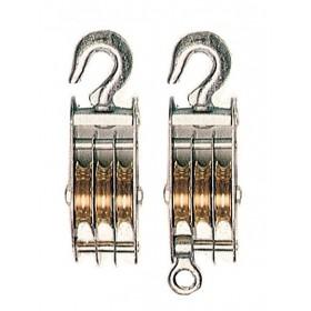 Taglie di sollevamento a 3 gole Diametro 60 mm accessorio per funi