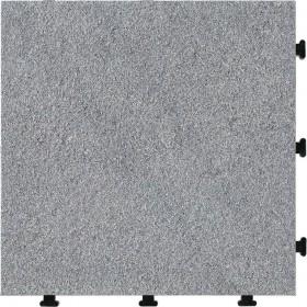 Pavimento a piastrelle in granito conf. Pz. 6 su supporto in resina cm. 30x30 - arredo casa  giardino piscina