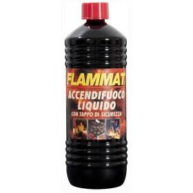 Accendifuoco liquido Flammat confezione da lt. 1 - Barbecue casa giardino
