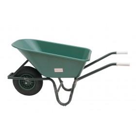 Carriola vasca plastica 100 l ruota pneumatica giardinaggio Mod WB-100