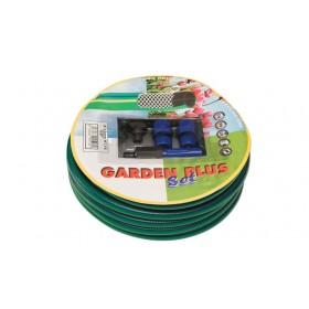Kit 5 pz Set Tubo attrezzato 15 m irrigazione giardino Mod GARDEN PLUS