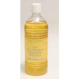 Olio per torcia e lampada alla citronella per uso esterno confezione da 1 litro - casa giardino