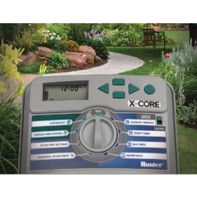 Centralina irrigazione interrata giardinaggio HUNTER 6 zone Art XC6