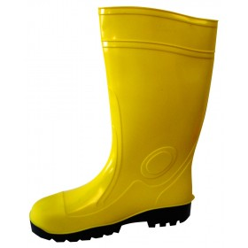 Stivali antinfortunistico PVC nitrilico suola carrarmato n 42 giallo
