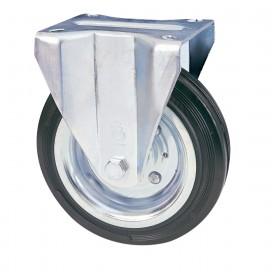 Ruota industriale AVO ø mm 80 piastra fissa portata 50 kg Art 80/A