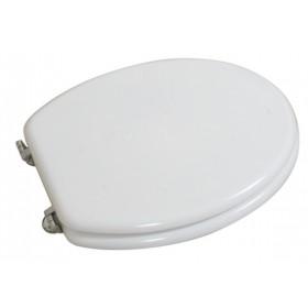 Coprivaso universale bianco in legno laccato cm 37x45 - Mod. CLASSICO