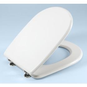 Coprivaso bianco in legno laccato Gedy cm 37x45 - Mod. ARETUSA