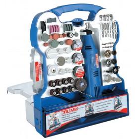 Mini Trapano 130 W kit valigetta 158 accessori - Mod. DRILLMAX