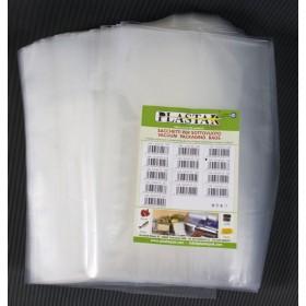 Buste goffrate nylon cm 20x40 sacchetti sottovuoto 12 conf da 100 pz