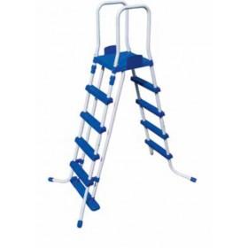 Scaletta doppia Bestway rampa esterna staccabile per piscine con altezza max 132 cm Mod. 58332 - scale per piscina