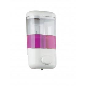 Distributore di sapone Portasapone da 600 ml in resina bianca - Gedy ART.2280