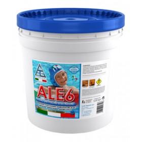 Cloro multifunzione in pasticche per piscine - Mod. ALE6 - C.A.G. Chemical - Confezione da 5 kg
