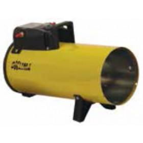 Generatore di aria calda a gas propano - butano potenza regolabile Mod. SG80M portata 520 m³/h - riscaldamento officina cantiere garage serra