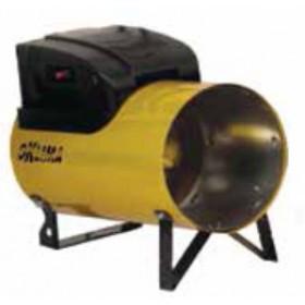 Generatore di aria calda a gas propano - butano potenza regolabile Mod. SG120M portata 1100 m³/h - riscaldamento officina cantiere garage serra