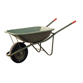 Carriola con vasca saldata ruota pneumatica capacità 75 l Mod EXPORT