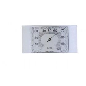 Igrometro in ABS cm 14x7 misura grado umidità nell'ambiente Art 204601