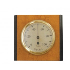 Igrometro in lengo cm 9.5x8.5 misura grado umidità ambiente Art 301341