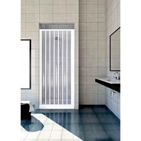 Porta a soffietto in PVC per doccia ad estensione regolabile cm 80/110 - box arredo bagno