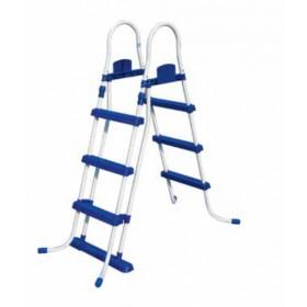 Scaletta doppia con rampa esterna staccabile Bestway per piscine altezza max 107 cm Mod. 58330 - scale per piscina