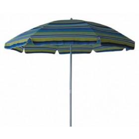 Ombrellone da spiaggia diametro cm. 180 con palo in acciaio fantasie assortite - casa giardino mare piscina