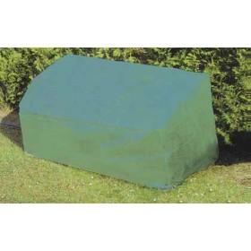 Copertura per panchina in poliestere cm. 160x80x75h - arredo casa giardino