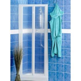 Porta a soffietto in crilex per doccia ad estensione regolabile cm 68/73 Mod. LUSSO - box arredo bagno
