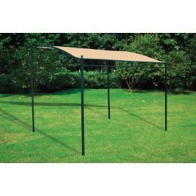 Veranda in acciaio verniciato m. 2.50x3.00 - arredo casa giardino